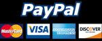 Accepting PayPal, MasterCard, VISA, American Express, Discover