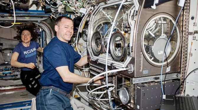 Search For Alzheimer's Cure Taking Place Aboard International Space Station